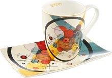 Wassily Kandinsky Kaffeebecher mit Untertasse