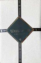 Waterford Linens Elegante Stoff-Tischdecke,