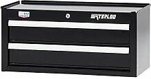 Waterloo W300Serie Mittelschneider Werkzeug Schränkchen mit 2Schubladen, 66cm–Entworfen, entwickelt und zusammengebaut in den USA