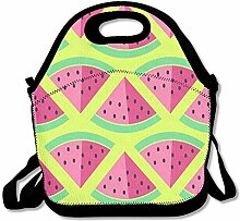 Watermelon Convenient Lunch Box Tote Bag Rugged
