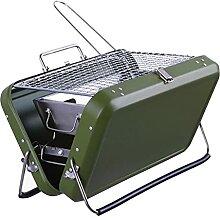 WATPET Brennholzträger Tragbarer Barbecue Grill