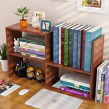 WAYER Zeitungsständer Holz, Desktop-kleines
