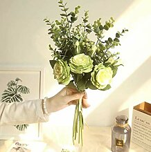 Waymeduo Brautstrauß für Hochzeitsfeier