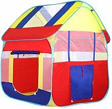 WAZY Kinder Zelt Großes Haus Kinder Indoor Zelt