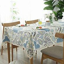 WAZY Tischdecke europäischen Stil Mehrzweck