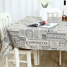 WAZY Tischdecke Europäischen Stil Retro Mehrzweck