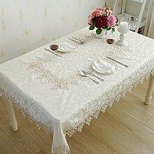 WAZY Tischdecke im europäischen Stil Jacquard