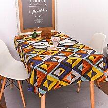 WAZY Tischdecke Jane Europäischen Stil Mehrzweck