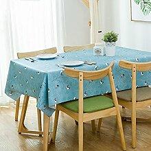 WAZY Tischdecke Restaurant Platz Couchtisch Matte