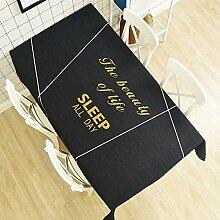 WAZY Tischdecke Staubdicht Europäischen Stil