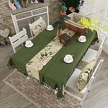 WAZY Tischdecke + Tischläufer, Baumwolle und