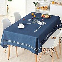 WAZY Tischtuch Tischdecke Tuchläufer Tee Tisch