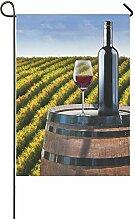 WAZZIT Rot Wein Holz Barrel Vineyard Polyester
