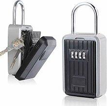 WBTY Schlüsselsafe mit Zahlenkombination zum