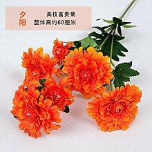 WBXYCG Künstliche Blumen Chrysantheme,