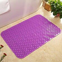 WC Badezimmer Matte,Bad Badematte,Fußabtreter,Das Badezimmer Tür Die Fußmatten,Badezimmer PVC Matte-M 50x80cm(20x31inch)