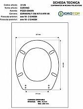 WC Pozzi Ginori Cervino/Monviso blau Marino