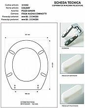 WC Pozzi Ginori Colibri 'Marineblau