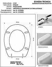 WC Pozzi Ginori Ipsilon weiß verchromter