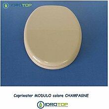 WC Pozzi Ginori Modul Champagner Reißverschluss