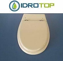 WC Pozzi Ginori olimpica-alfeo weiß verchromter