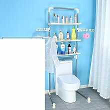 WC Rack/Bad Lagerregal/Stock Toiletten/Multifunktionale Toiletten Bad Regal-A
