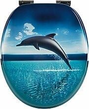 WC-Sitz Dekor Dolphin Dream | Toilettensitz |