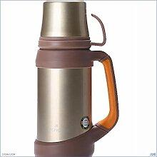 WCDF Thermoskanne, 1000 ml, Edelstahl, hohe