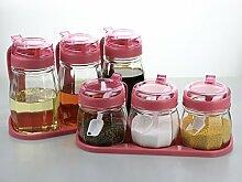 Wcp Gewürzdosen, Küchenzubehör, Glas
