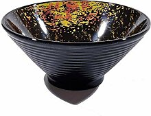 WCS Bowl Keramiknapf ZXT verdicken Pasta Bowl,