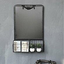 WCUI Blackboard Rack, Storage Rack Dekorative Rack Café Bar Store Kreative Einfache 47 * 15 * 60cm Wählen ( größe : 47*15*60cm )