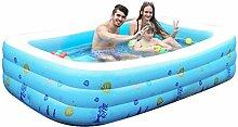WCUI Kind Schwimmbad Inflated Badewanne Dicker Oversized Pool Fold Badewanne Isolierung Plastik Adult Bad Barrel Bad Töpfe Bad Zylinder spielen im Wasser Schwimmbad Haus Wählen ( größe : 130*90*50CM )