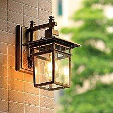 WCUI Patio Wasserdichte Wand Lampe, Outdoor Villa