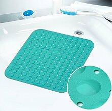WCUI Quadratische Rutschfeste Fußauflage Home Teppich Bad Badematten WC-Matten Teppich-Türmatten Mat Auswählen (Farbe : C)