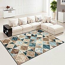 WCUI Wohnzimmer Teppich Couchtisch rechteckig Teppich am Bett Bett Wählen Sie ( Farbe : C , größe : 78*150CM )