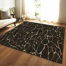 WCZ Teppich Einfacher Marmor Bedruckter Teppich