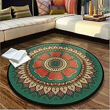WCZ Teppich runde Teppiche europäischen Stil