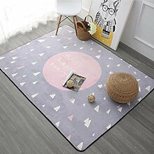 WCZ Teppich Simple Dreamland Pink Rug Home