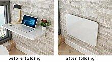 WCZ Wandtisch mit Klappe. MDF-Tabelle.
