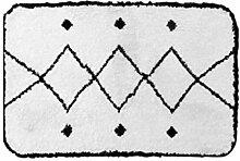 WCZ Wohnzimmer Fußmatte Dekoration, Marokkanische