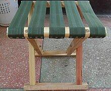 WDBS Angeln aus Holz Hocker/Sitzbank/Schuh Bank/Escort/Solid Wood Hocker/Portable Klapphocker Mazar