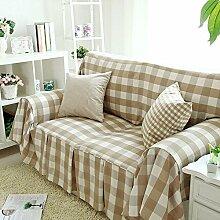 WDBS Europäisches Land Plaid Baumwolle Handtuch Deckglas Sofa Sofa Sofa umfasst Stoff , 180*300cm