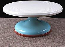 WDBS Farbige Kunststoff PVC Kuchen Kuchen dekorieren Turntable Plattenspieler/montiert/Blume Bett/Backen Werkzeuge , 1