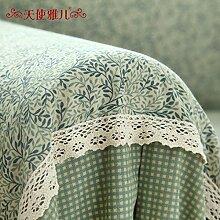 WDBS Garten Deckglas Sofa Handtuch Lace Cover Sofa Stoffbezug , 180*200cm