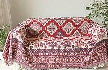 WDBS Handtuch Baumwolle Sofa Deckel Sofa Decke , 170*210cm