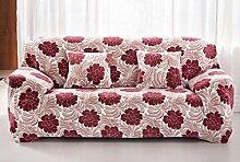 WDBS Komplettpaket für alle universal 3 Sitzer Sofa Deckel Sofa Stoff Slip Cover Sofa Kissen Abdeckung Handtuch , 1 , 2seater