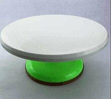 WDBS Kuchen-Blume-Bett/Aluminium-Legierung Montage Plattenspieler/Kunststoff Kuchen dekorieren Plattenspieler oder Backen Werkzeuge , 3