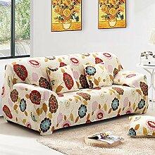 WDBS Sofa Kissen Stoff gleiten Garten Farbe Sofa set Joker Sofa Handtuch , 3 , 3seater