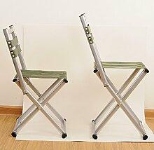 WDBS Tragbare folding Hocker mit Rückenlehne/Erwachsene Mazar Angeln Hocker/outdoor/Urlaubsreisen Skizzen Stuhl , big