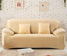WDBS Volltonfarbe voll Sofa Stretch Schonbezug Sofa Abdeckung voll senden Deckglas Sofa Schal , 3 , 3seater